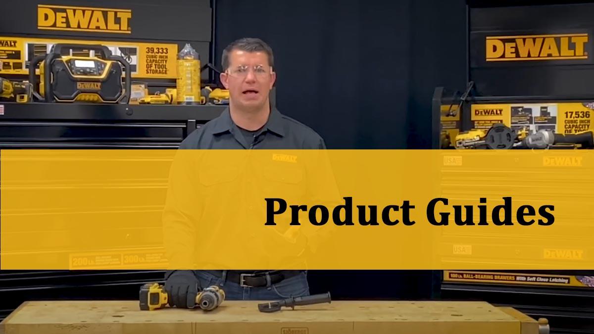 DeWalt TV Product Guides