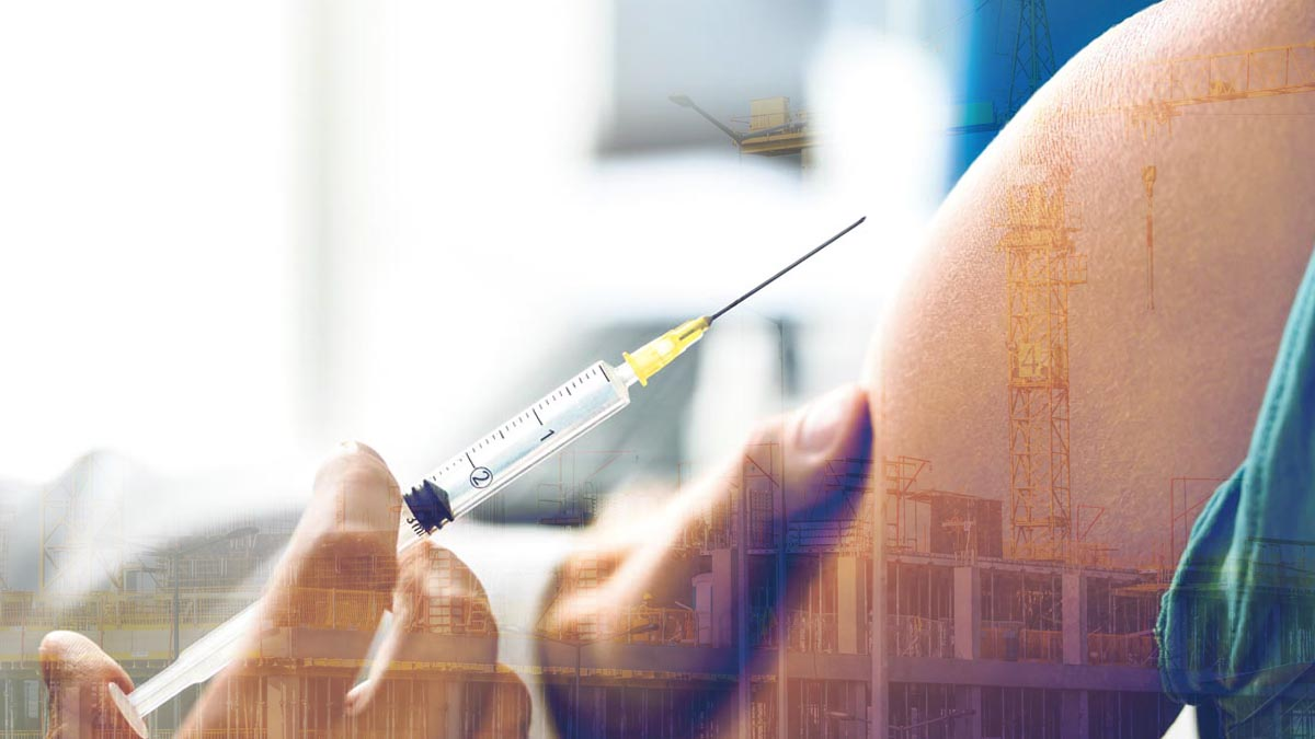 A Contractor's Guide to Navigating a Jobsite's Vaccine Mandate