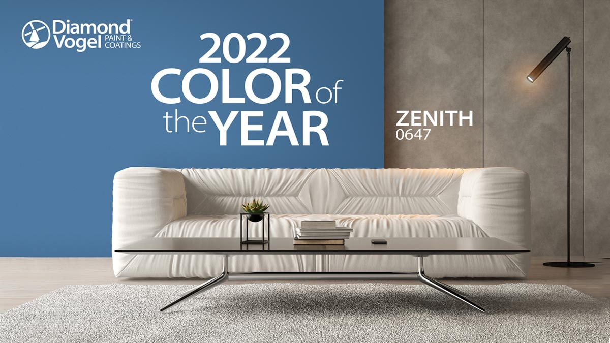 Diamond Vogel 2022 Color of the Year and Trend Report